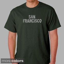 Los Angeles Pop Art Men's San Francisco T-Shirt