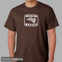 Los Angeles Pop Art Men's 'Hecho en Mexico' T-shirt