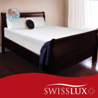 Swiss Lux 10-inch Queen-size European-style Memory Foam Mattress
