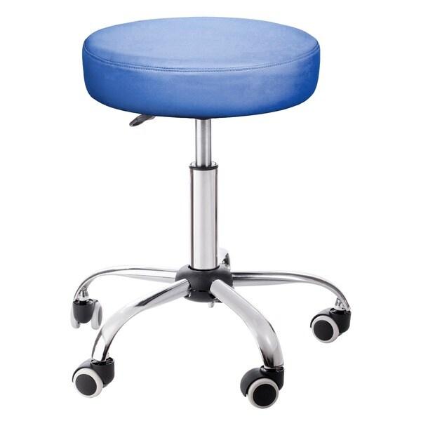 Rolling Adjustable Blue Medical Massage Stool 12952409