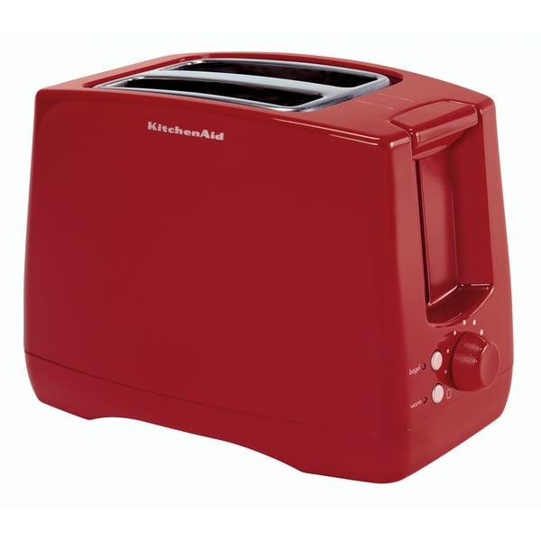 KitchenAid KTT340ER Empire Red Extra Wide Two-slot Toaster - 12952916 - Overstock.com Shopping ...