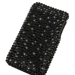 Insten Black Snap-On Case for Apple iPhone 3G/ 3GS