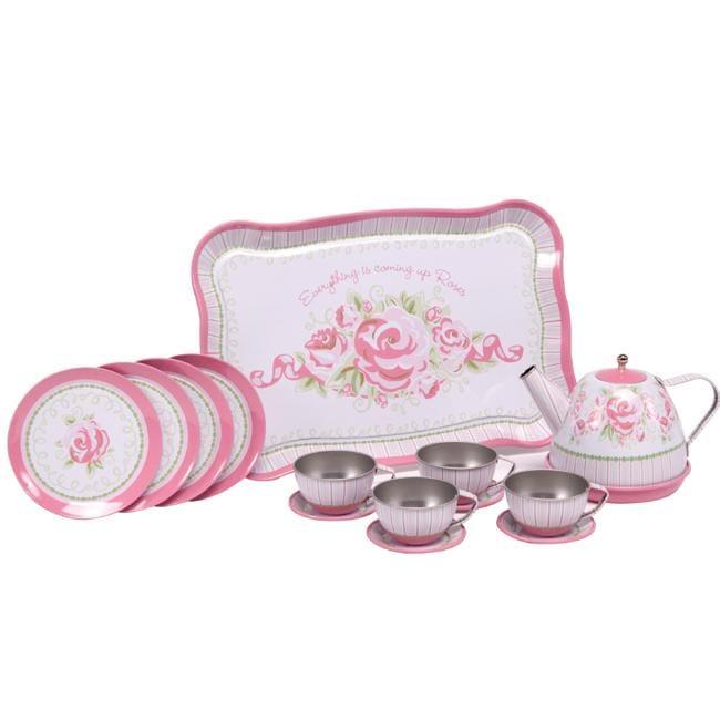 Lasten tin tea set