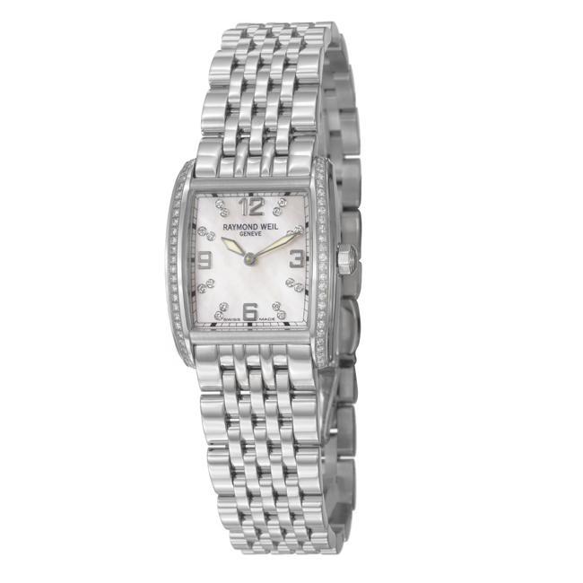 Raymond Weil Women's 'Don Giovanni' Stainless Steel Diamond Watch