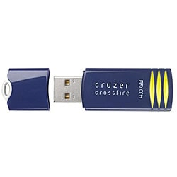 SanDisk 4GB Cruzer Blue 'Crossfire' USB Flash Drive