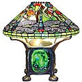 Tiffany-style Dragonfly Lighted Base Table Lamp
