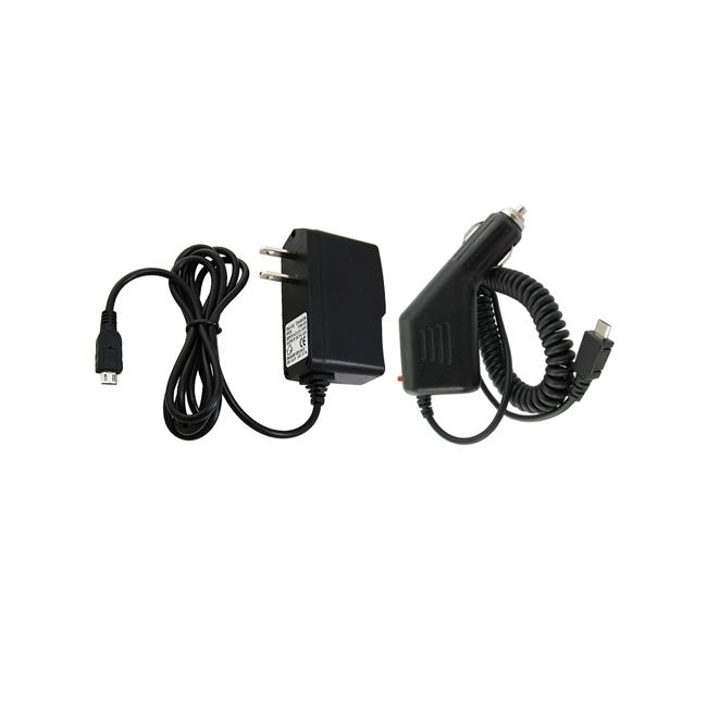 INSTEN Car and Travel Charger for HTC Droid Incredible