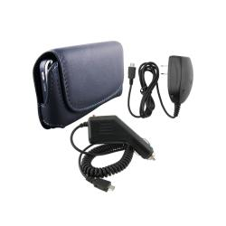 Leather Case and Chargers for HTC Droid Incredible