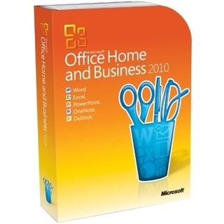 Microsoft Office 2010 Home and Business - 32/64-bit - Complete Produc