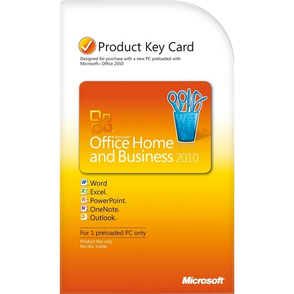 Microsoft Office 2010 Home and Business 32/64-bit