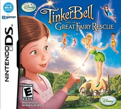 Nintendo DS - Tinker Bell & The Great Fairy Rescue - by Disney Interactive