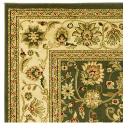 Safavieh Lyndhurst Collection Majestic Sage/ Ivory Rug (8' Square)
