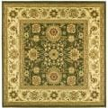 Lyndhurst Collection Majestic Sage/ Ivory Rug (8' Square)