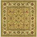 Lyndhurst Collection Majestic Beige/ Ivory Rug (8' Square)