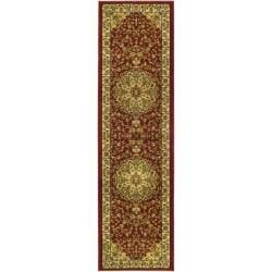 Safavieh Lyndhurst Collection Red/ Ivory Runner (2' 3 x 12')