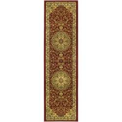 Safavieh Lyndhurst Collection Red/ Ivory Runner (2' 3 x 20')