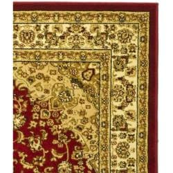 Lyndhurst Collection Red/ Ivory Rug (6' x 9')
