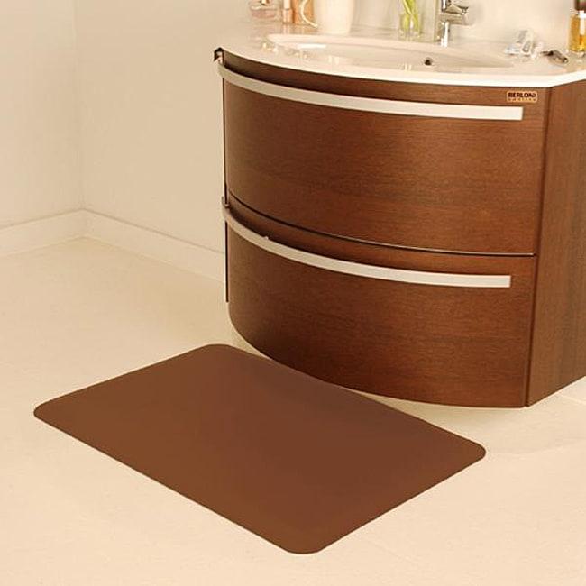 wellnessmats anti fatigue brown kitchen mats overstock shopping