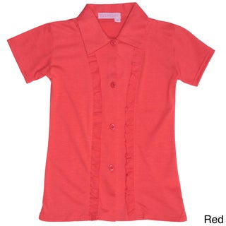 Everyday by Journee Girls Ruffle-front Shirt