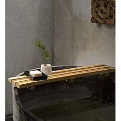 Farmed Teak Oil Finished Bath Bar (Thailand)
