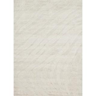Jullian Ivory Shag Rug (7'7 x 10'6)