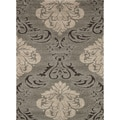 Jullian Grey Shag Rug (5'3 x 7'7)