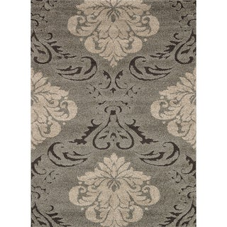 Jullian Grey Shag Rug (7'7 x 10'6)