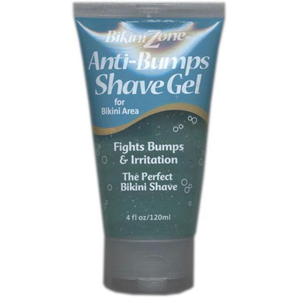 Bikini Zone Anti-bumps 4-oz Shave Gel (Pack of 6)