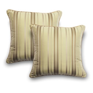 Stripe 18-inch Decorative Pillows (Set of 2)