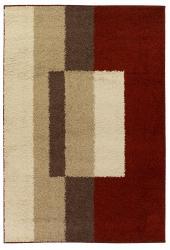 Mandara Red Shag Rug (8' x 11')