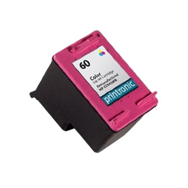 HP 60/ CC643WN Color Ink Cartridge Magenta (Remanufactured)
