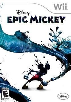 Wii - Disney Epic Mickey - By Disney Interactive