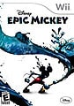 Wii - Disney Epic Mickey - By Disney Interactive