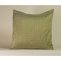 'Pyramid' Sage 20x20-inch Decorative Pillow