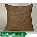'Traks' Purple/ Brown 20x20-inch Decorative Pillow