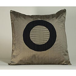 'Washer' Light Brown 20x20-inch Decorative Pillow