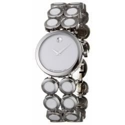 Movado Women's 'Ono Moda' Stainless Steel And Ceramic Quartz Watch