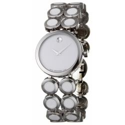 Movado Women's 'Ono Moda' Stainless Steel And Ceramic Quartz Watch