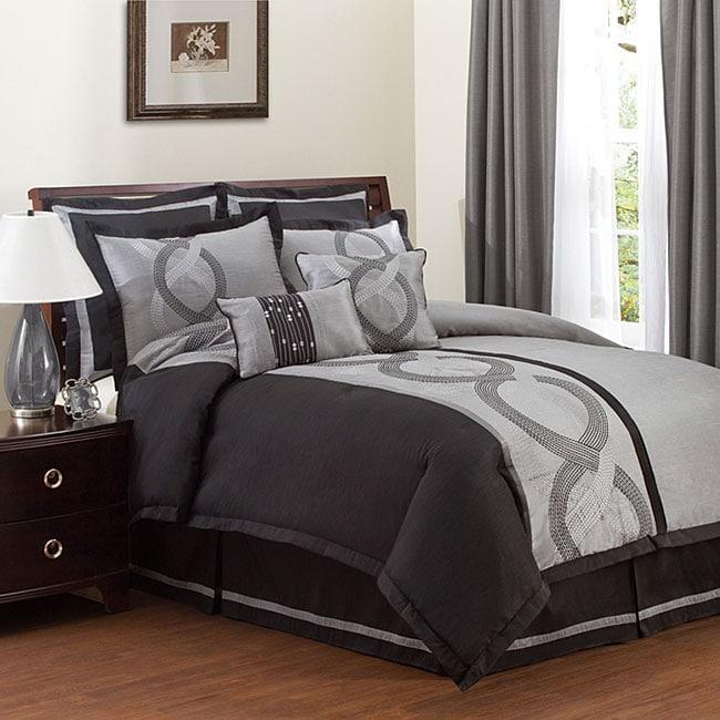 Lush Decor Talon 8-piece Comforter Set