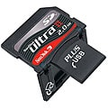 SanDisk 2GB Ultra II SD Plus USB Flash Memory Card (Bulk Packaging)