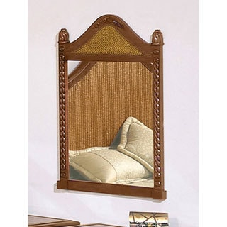 International Caravan Nigel Carved Wooden Mirror