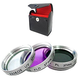 Zeikos 37mm Multi-coated Glass Filter Kit