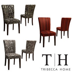 TRIBECCA HOME Decorative Parson Side Chairs (Set of 2)