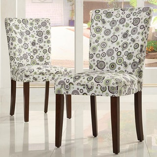 Decor Bubble Print Dining Chairs (Set of 2)