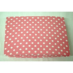 My Baby Sam Paisley Splash in Pink Fitted Crib Sheet