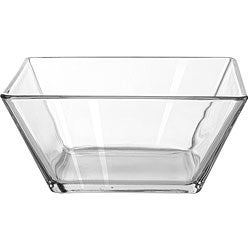 Libbey Tempo 9-inch Square Bowl (Pack of 4)