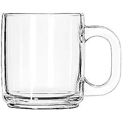 Libbey Crystal 10-oz Coffee Mugs (Pack of 12)