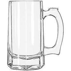 Libbey 12-oz Glass Beer Steins (Pack of 12)