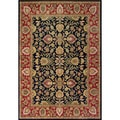 Alliyah Handmade Dark Navy 100 Percent New Zealand Wool Rug (8' x 10')