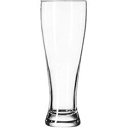 Libbey Giant 23-Oz Beer Pilsner Glasses (Pack of 12)